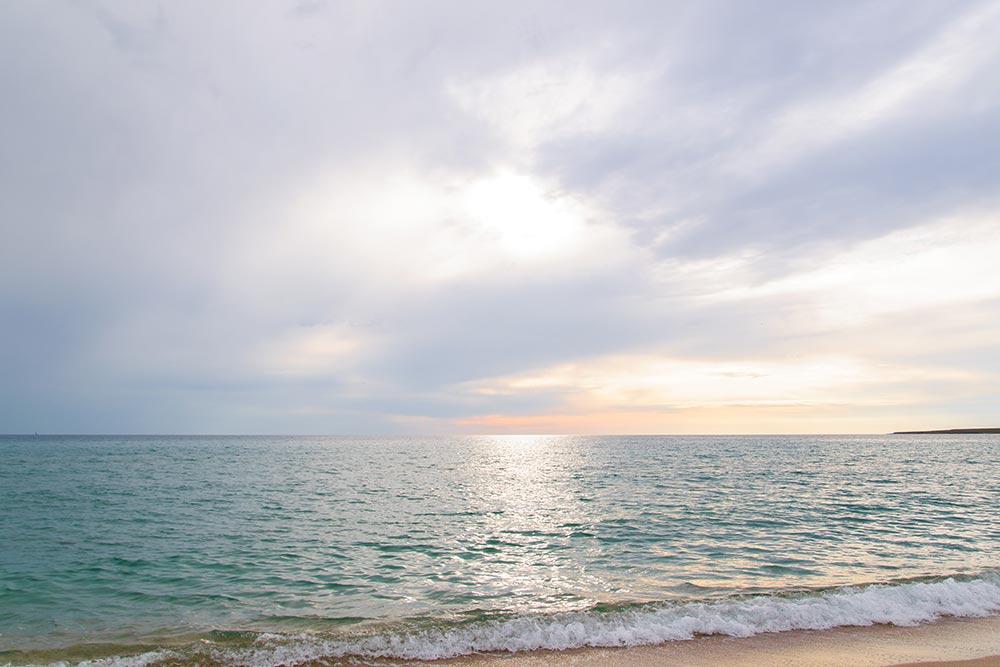 Пляж Оленевки не уступает лучшим зарубежным пляжам