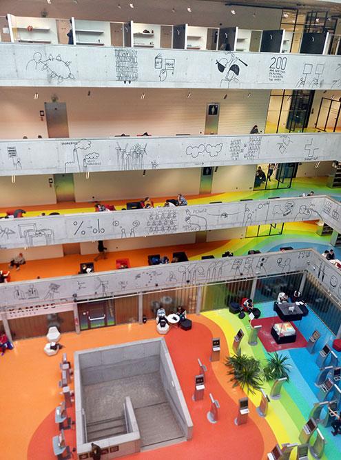 Народная техническая библиотека внутри Фото с официального сайта