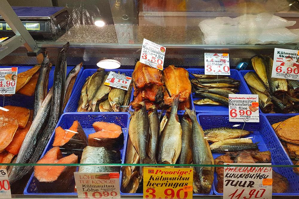 Стоимость рыбы на рынке у Балтийского вокзала, на мой взгляд, вполне доступная