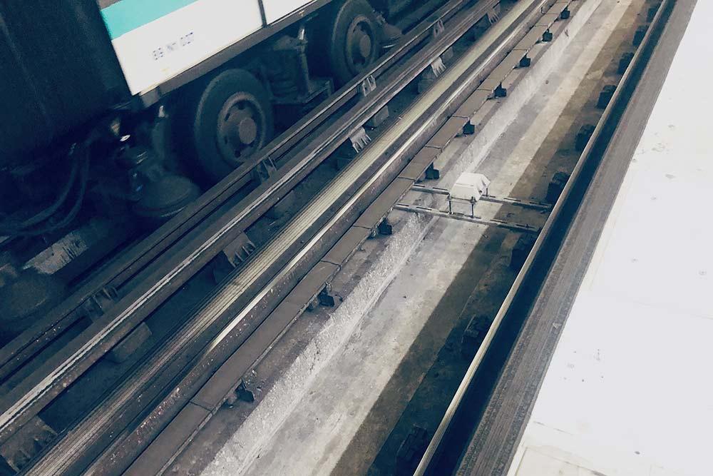 Резиновые колеса у поездов метро значительно снижают шум в парижской подземке