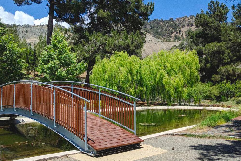 Ботанический сад A.G.Leventis в Троодосе