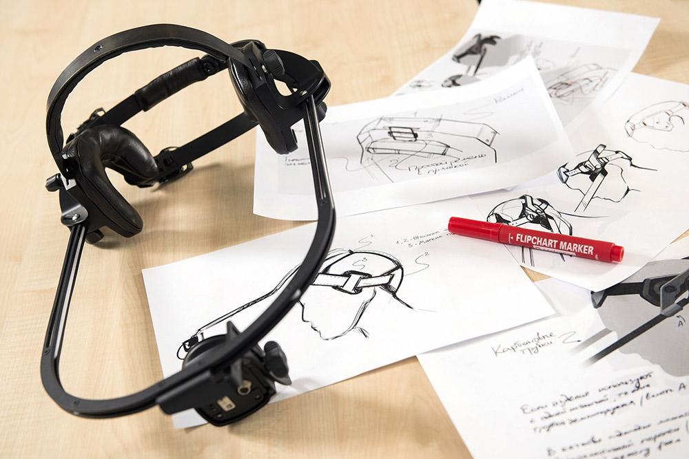 Студия визуальных эффектов CGF поставила нам задачу разработать конструкцию шлема длязахвата ипереноса мимики на3Д-персонажей