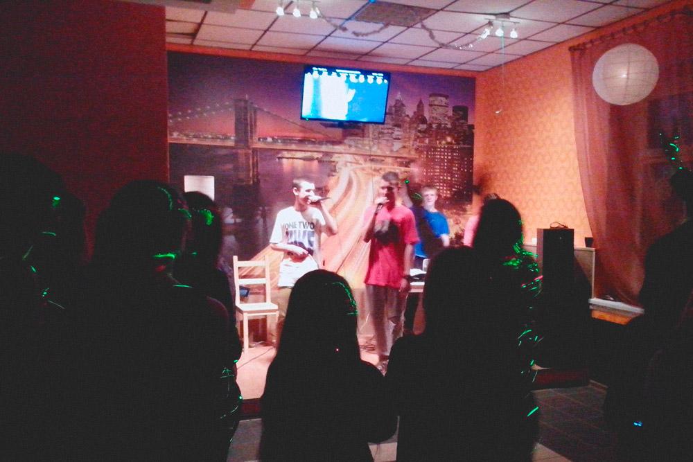 Первый рэп-вечер в городе: в зале только подростки