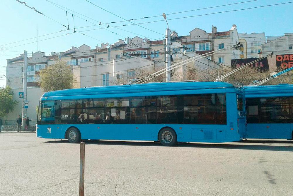 Троллейбусный парк города недавно обновили