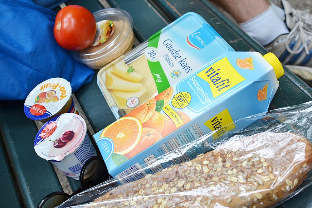 Набор для завтрака и перекуса в дороге