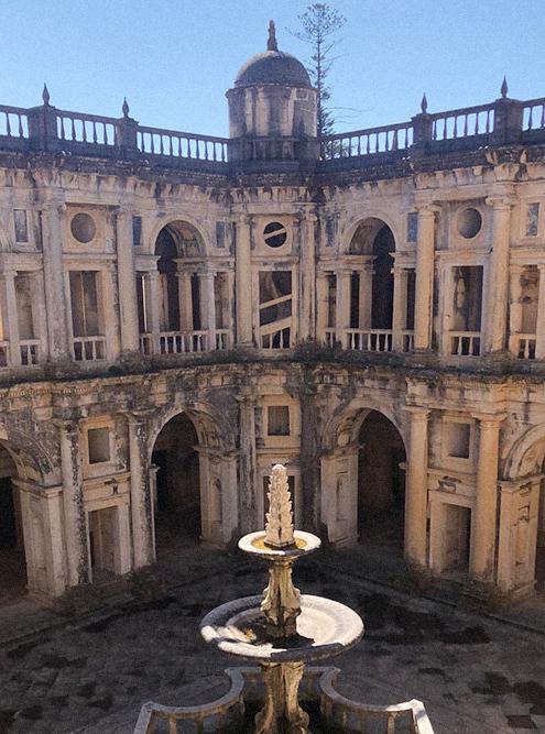 Монастырь ордена Христа и замок тамплиеров