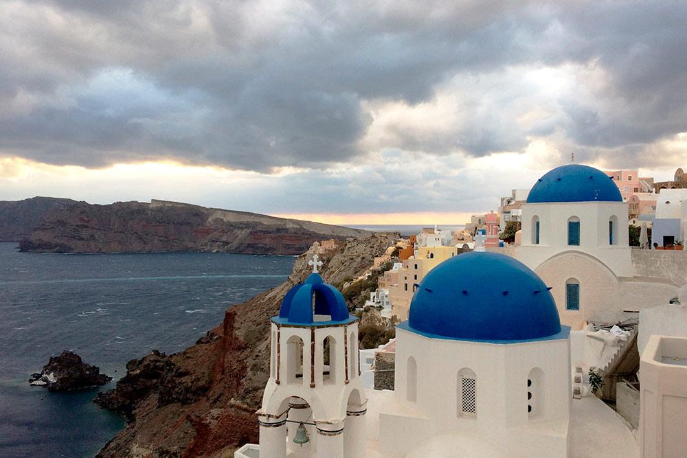 Те самые синие купола с открыток
