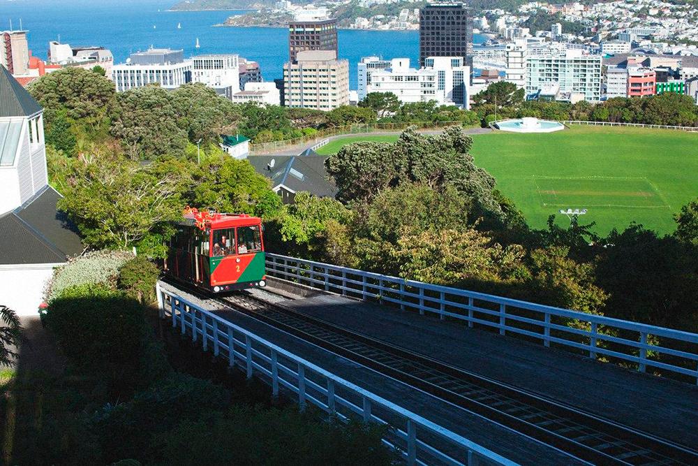 Веллингтон — столица Новой Зеландии