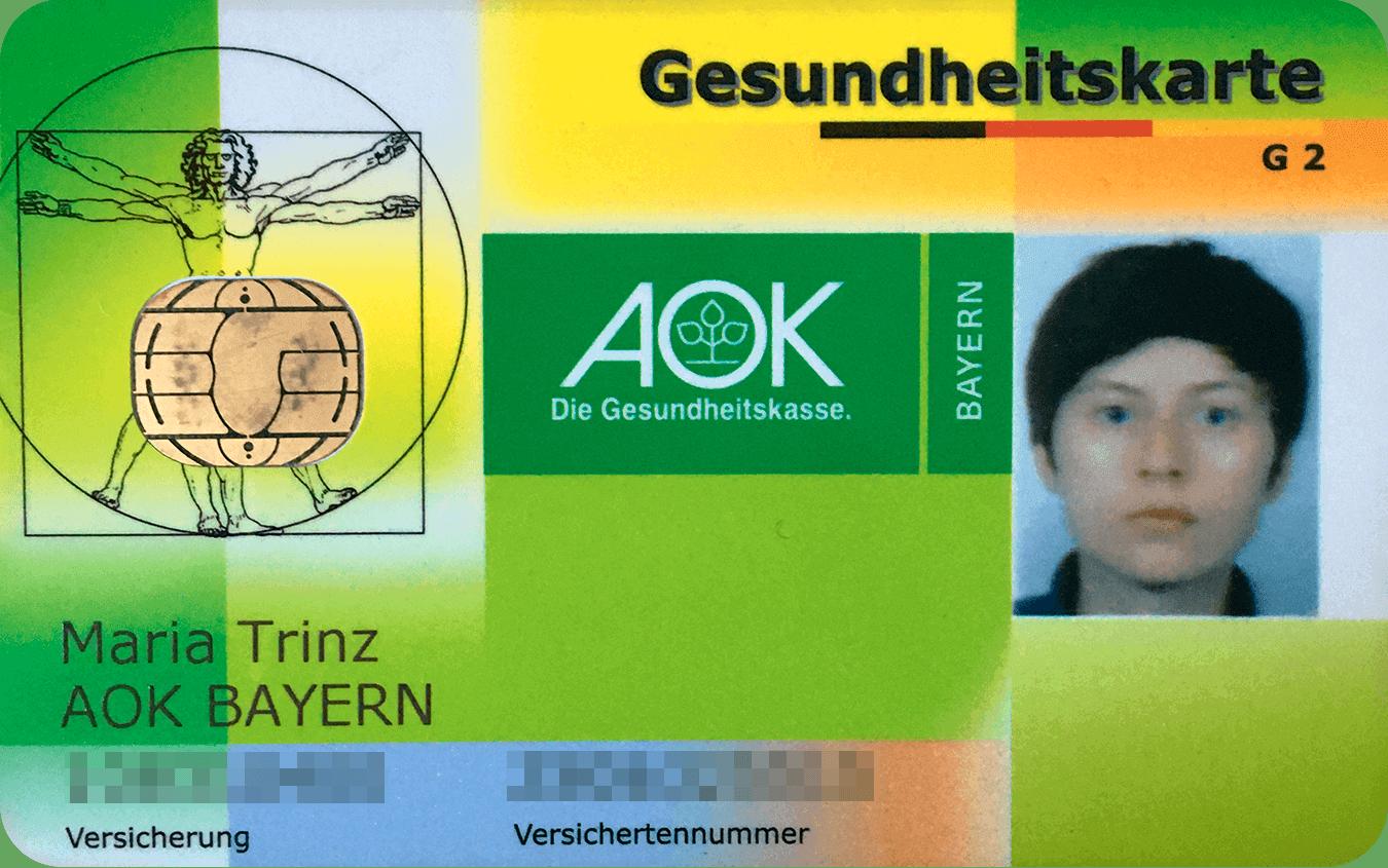Моя страховка AOK стоит 135€ в месяц. Пока я не работаю, за нее платит государство