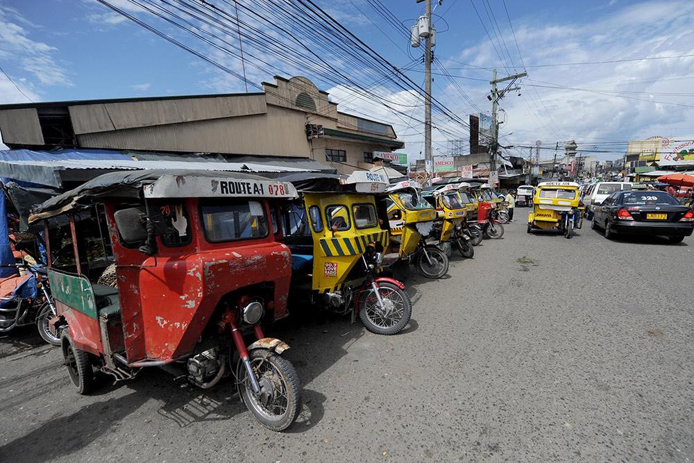 Трайсиклы в Давао