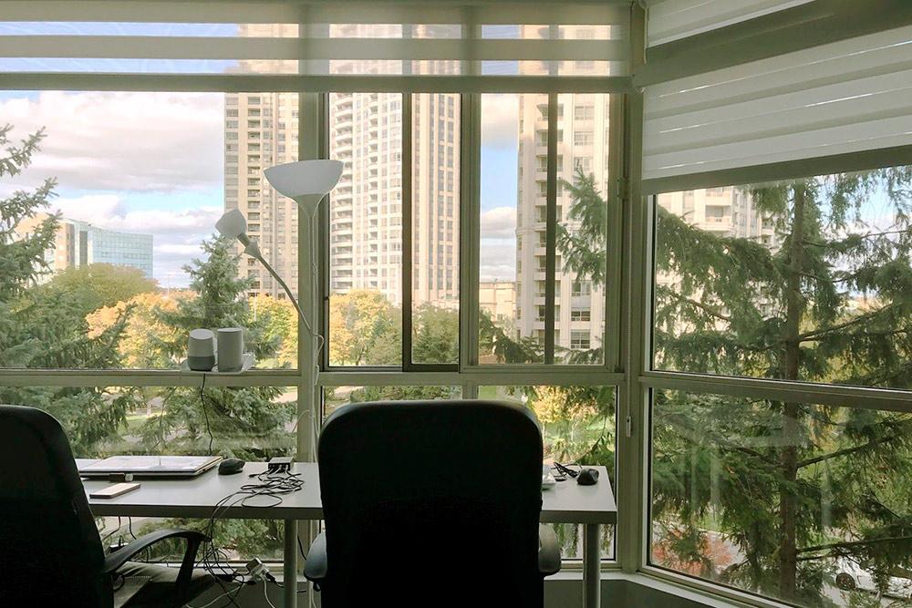Лучшая часть квартиры — панорамные окна