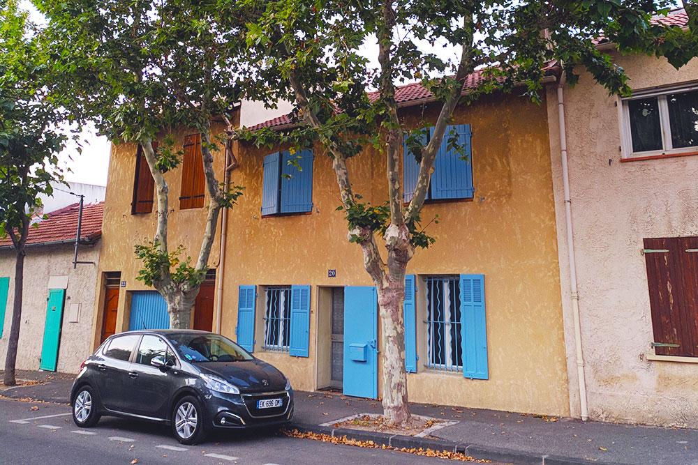И это тоже жилой дом в Марселе