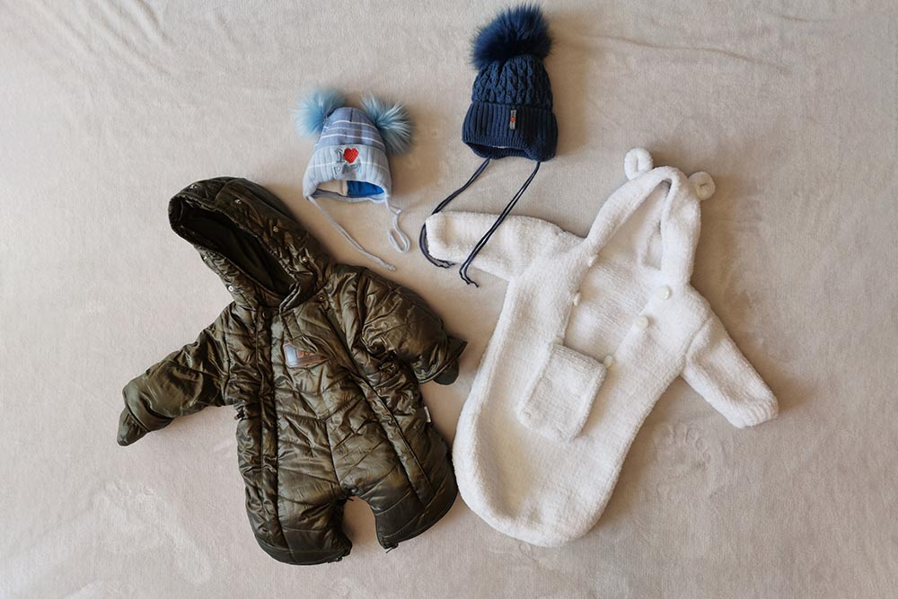 Зимний комбинезон и осенний комбинезон-мешок