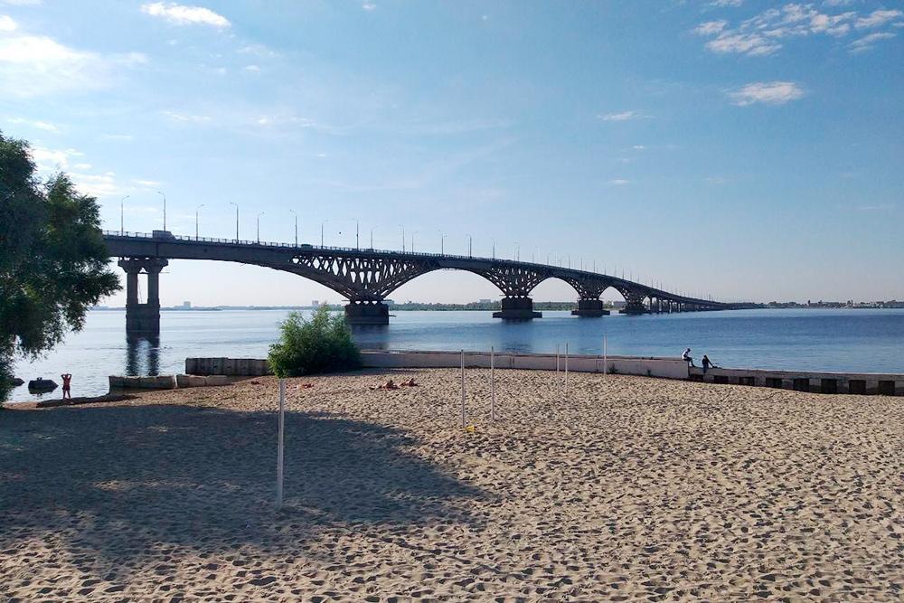 Мост через Волгу — любимый городской объект саратовских фотографов