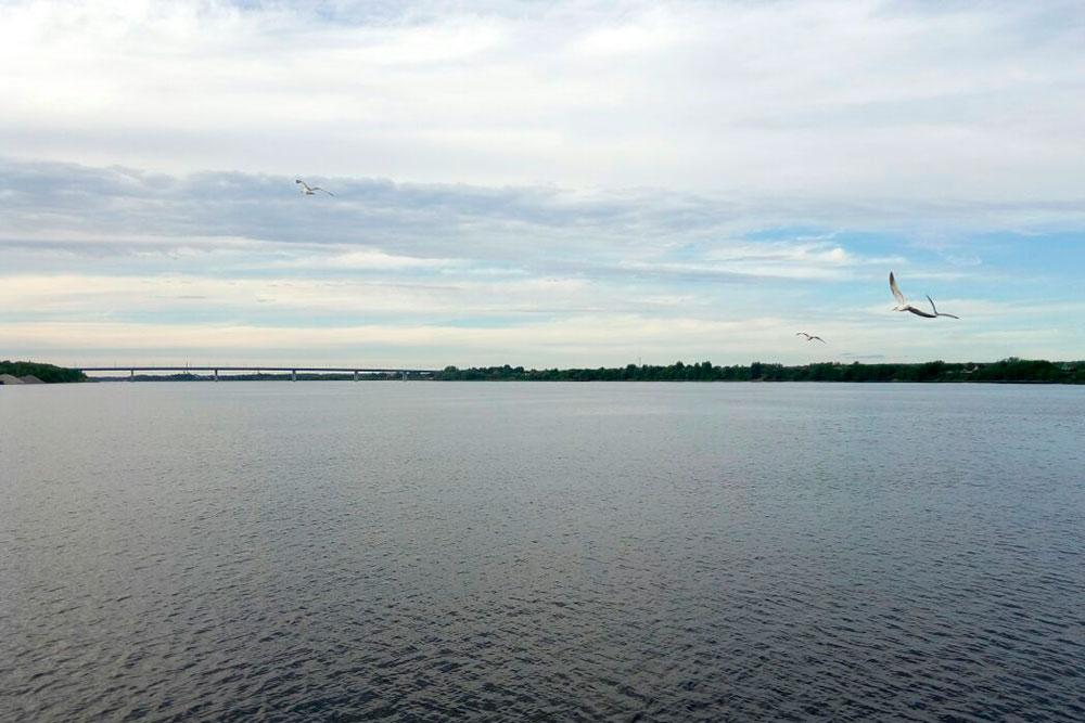 Волга — главная река города