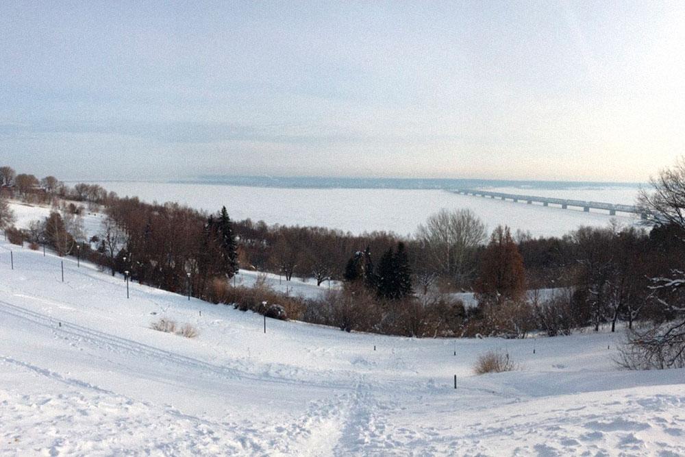 Зимы в Ульяновске снежные