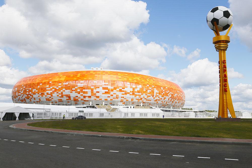 Лучшая ассоциация к стадиону «Мордовия Арена» — ролл «Филадельфия». Фото: Эдуард Ретунский