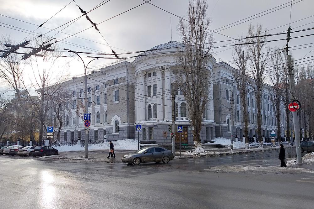 Научная библиотека СГУ в университетском городке