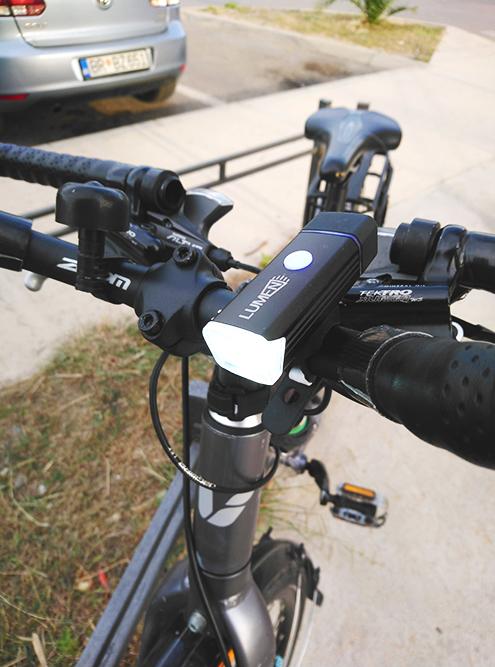 Фары на моем велосипеде