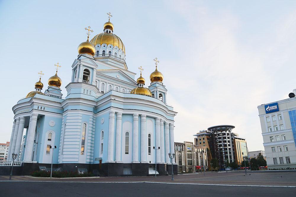 Кафедральный собор святого Феодора Ушакова. Фото: Эдуард Ретунский