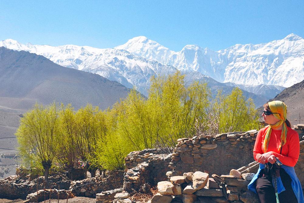 За захватывающими видами на горные вершины обычно и едут в Непал
