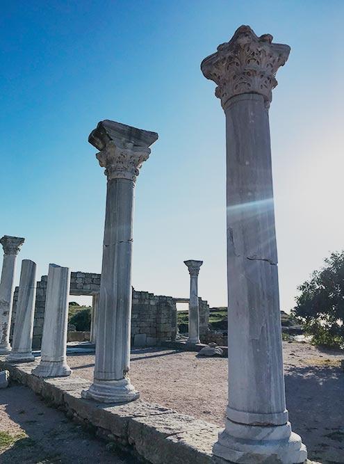 Постройкам в Херсонесе больше 2000лет