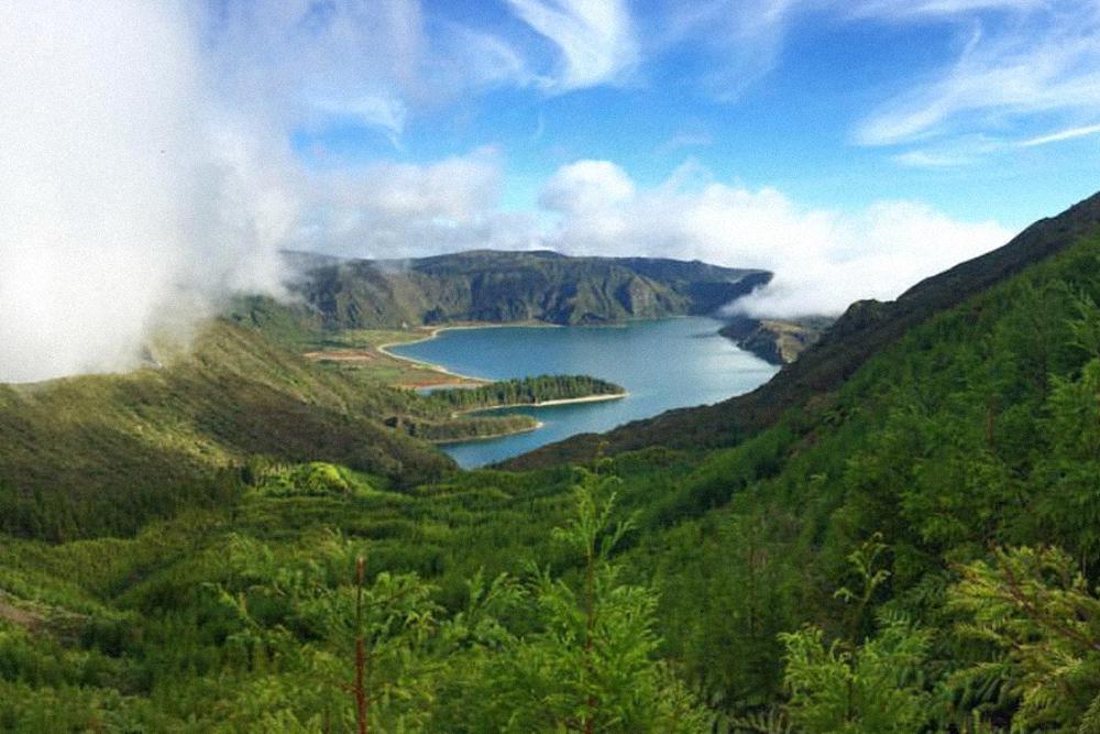 На Азорских островах невероятная природа. Это остров Сан-Мигель