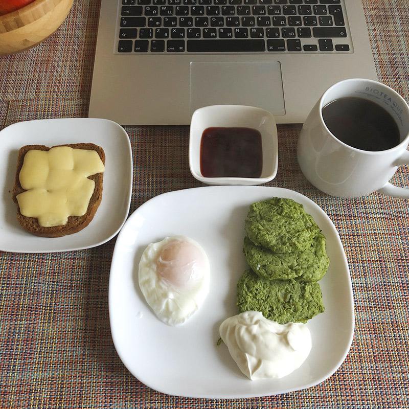 Мой обычный завтрак