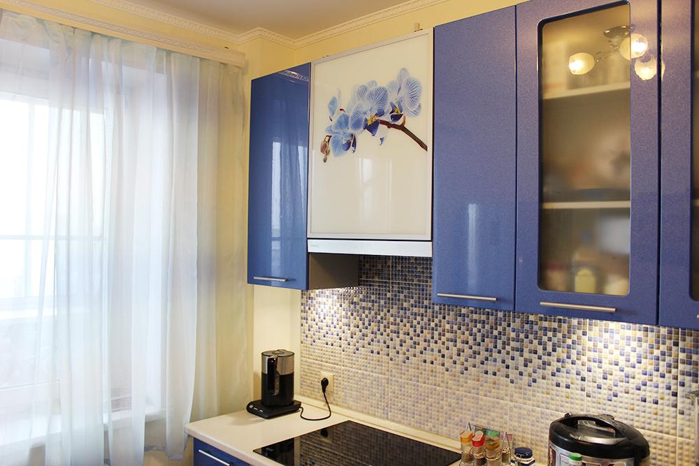 Кухня в однокомнатной квартире — 9 м²