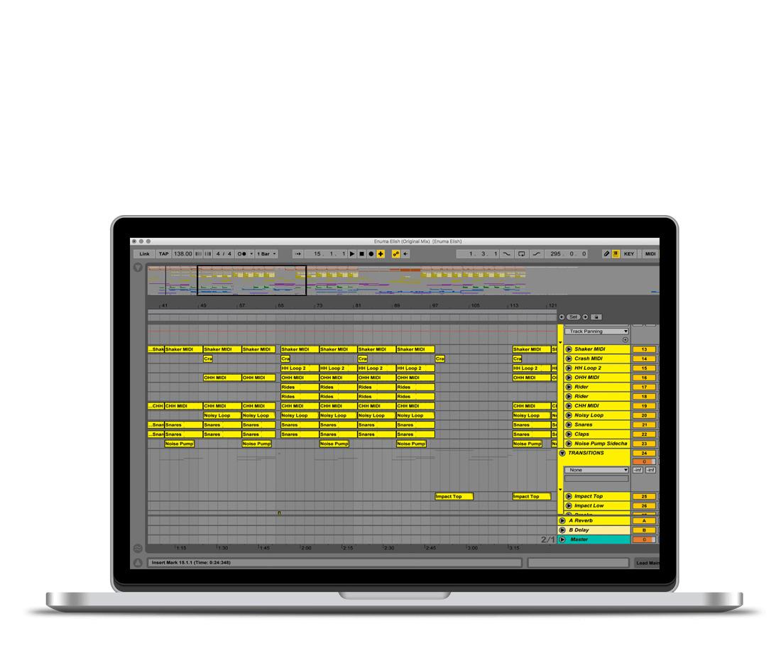 Не очень: ноутбук, на котором приходится постоянно прокручивать экран. Маленький монитор не помешает написать классный трек, но так работать неудобно