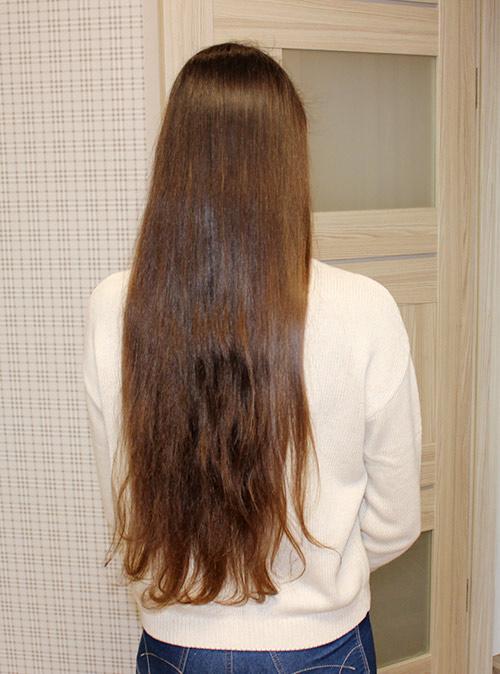 Сделайте фото распущенных волос при ярком дневном свете