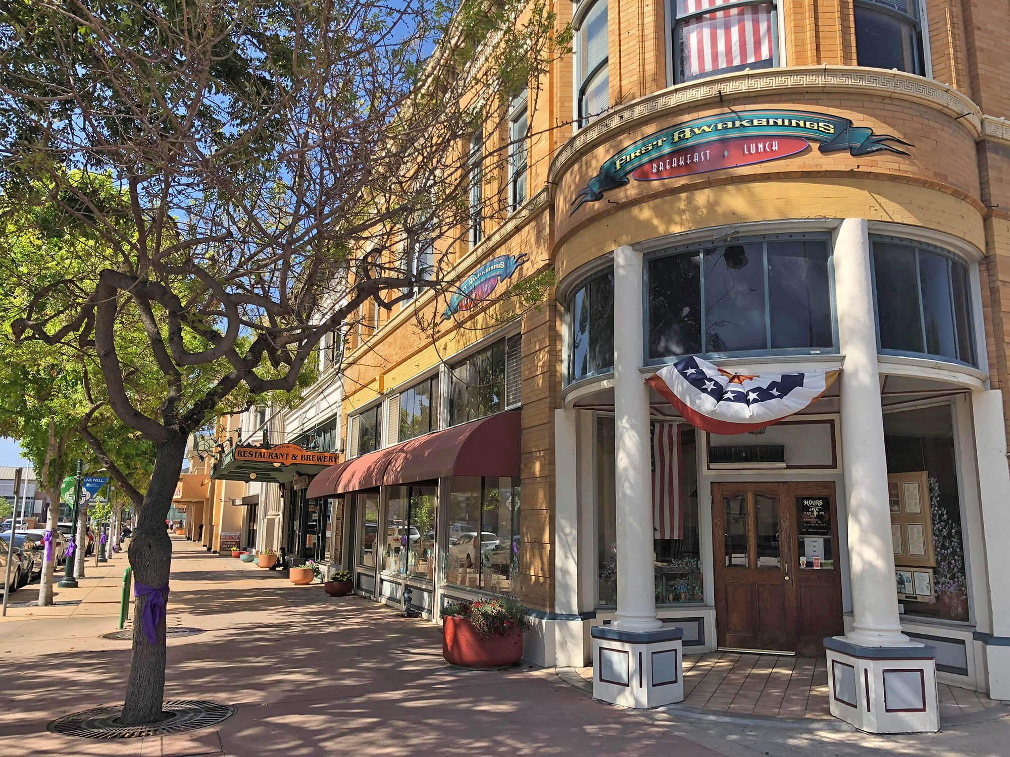 Салинас — небольшой провинциальный город с тихими улочками и малоэтажной застройкой. Тут родился писатель Джон Стейнбек
