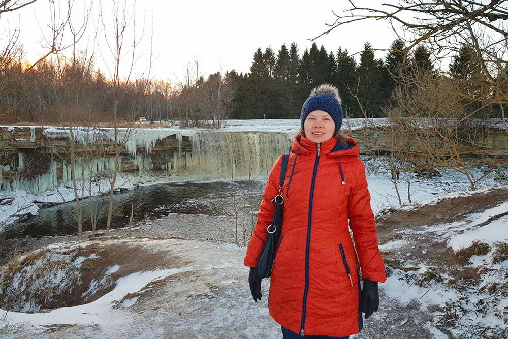 Водопад Ягала в 25 км от Таллина