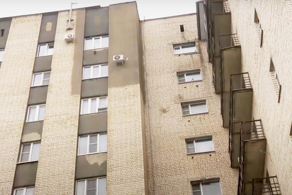 Студенческое общежитие БГТУ, в котором жила сестра