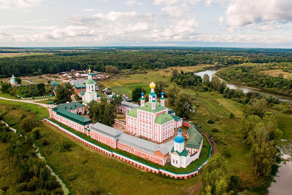 Санаксарский монастырь в Темникове. Фото: Константин Никитанов