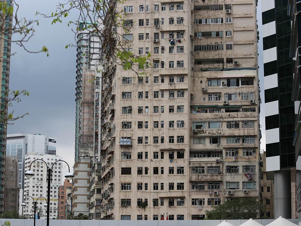 Обычный жилой район восточной части острова Гонконг