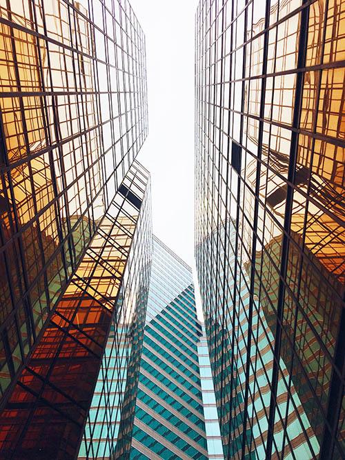 Уместить гонконгские здания в кадр почти нереально