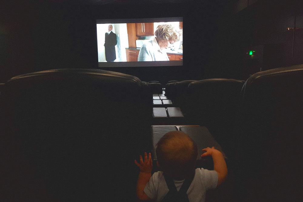 Мы с сыном в кино