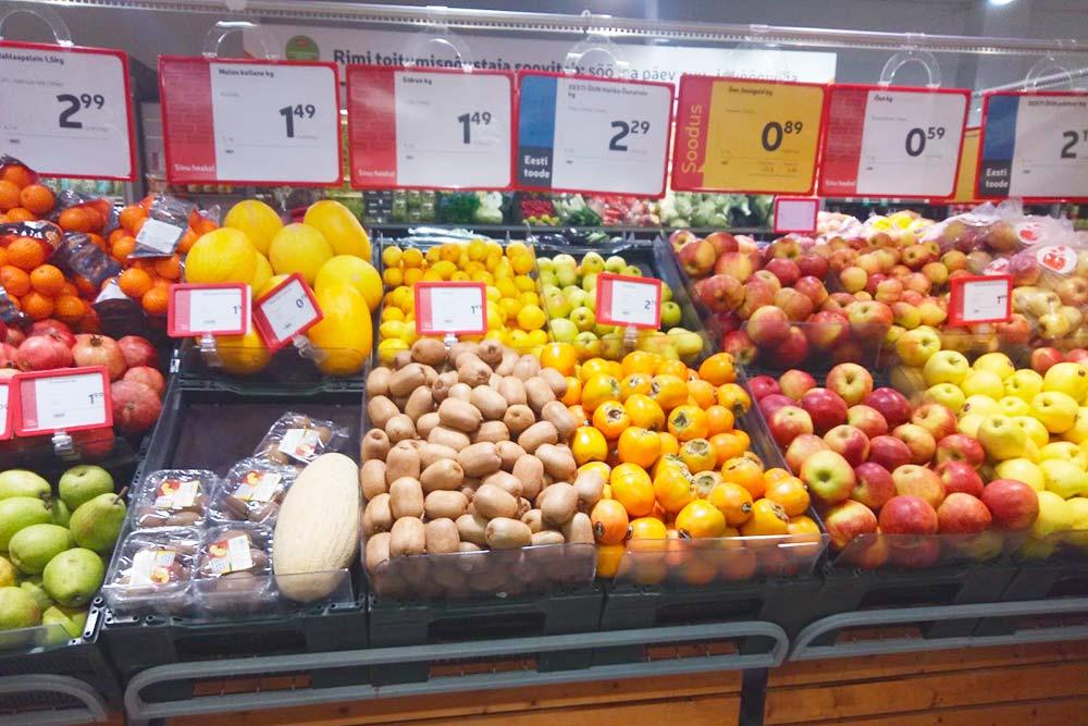 Обычный супермаркет с не самым богатым выбором фруктов. Они свежие, цены по местным меркам чуть ниже среднего. На вкус — как фрукты из супермаркета: не безвкусные, но могло быть и лучше