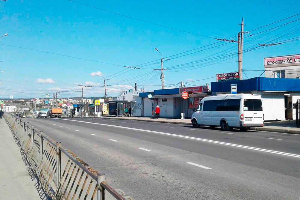 Самый крупный рынок Севастополя — Южный