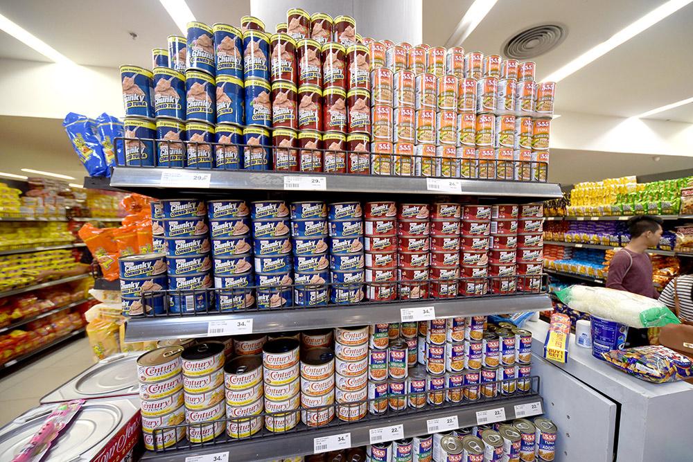 Популярные среди филиппинцев рыбные консервы