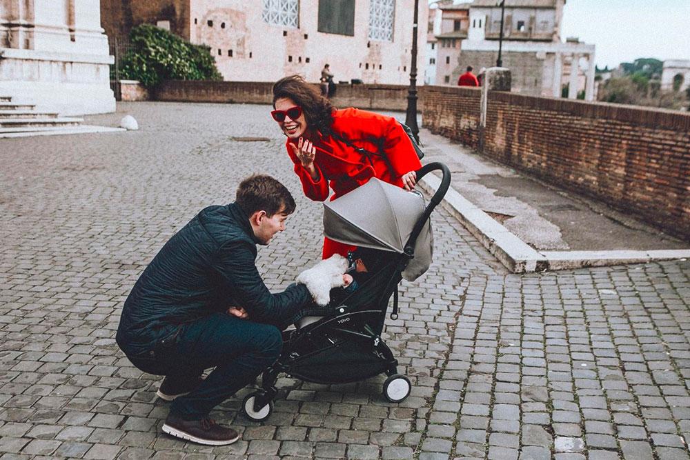 У нас самая легкая коляска, которую берут в ручную кладь. Такие коляски популярны в Лондоне