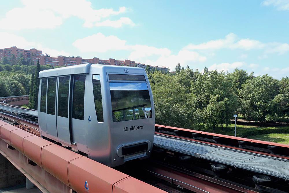 Мини-метро в Перудже — это нечто среднее между фуникулером и вагоном метро