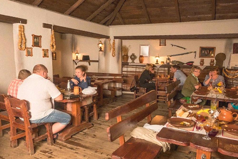 Ресторан украинской кухни «Гопак». Фото: группа «Ульяновск-онлайн» во Вконтакте