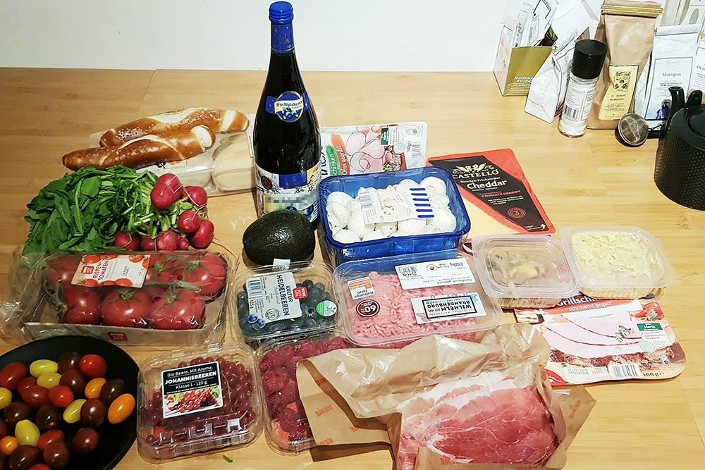 Все эти продукты обошлись мне в 40€ (2800<span class=ruble>Р</span>)