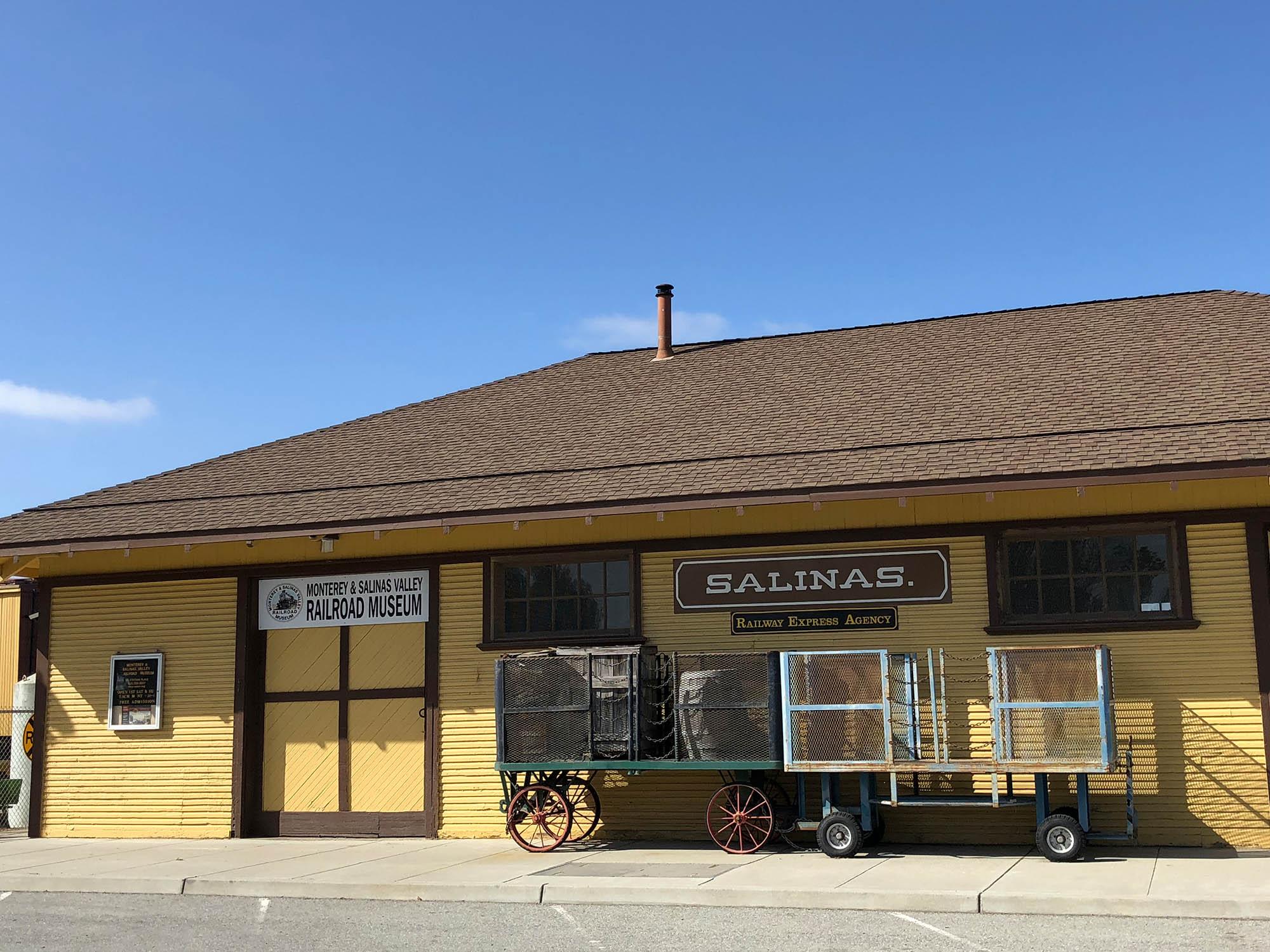 Музей железных дорог Салинаса и Монтерея