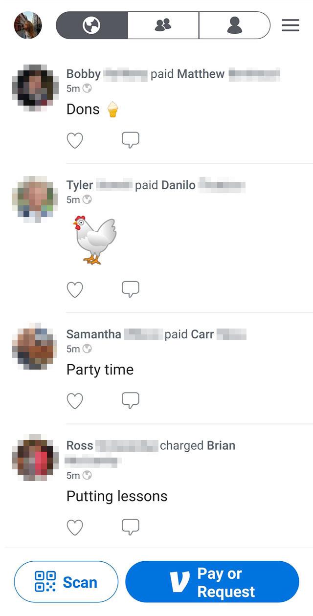 Вот так американцы переводят деньги в приложении