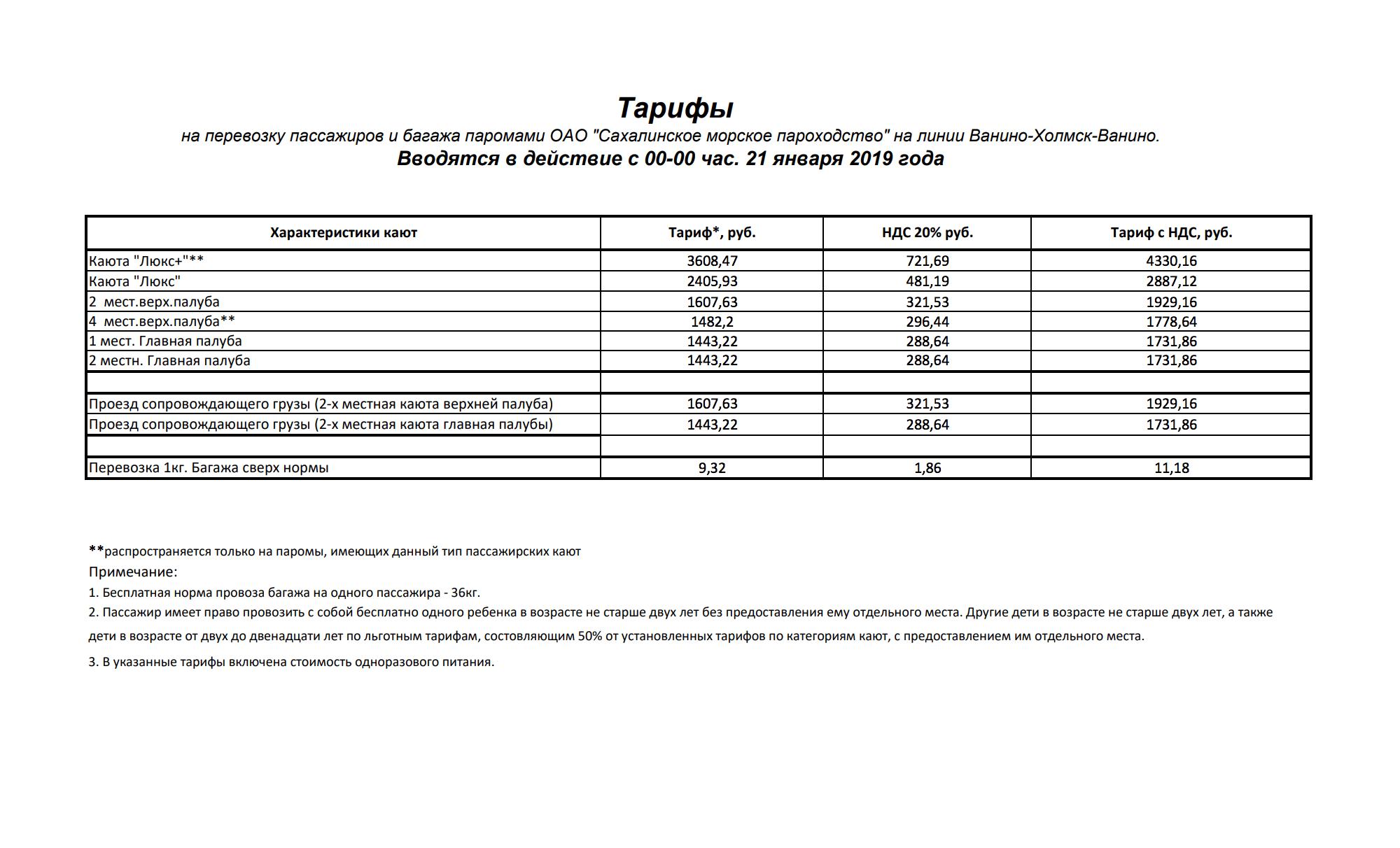 Самые дорогие билеты — в каюте «Люкс +»: по 4330<span class=ruble>Р</span>. Дешевые — за 1730<span class=ruble>Р</span> — в одно- и двухместных каютах на главной палубе