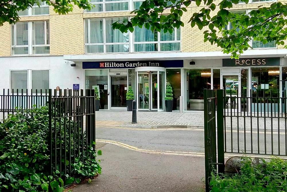 Мой отель в Бристоле, расположенный прямо у входа в городской сад