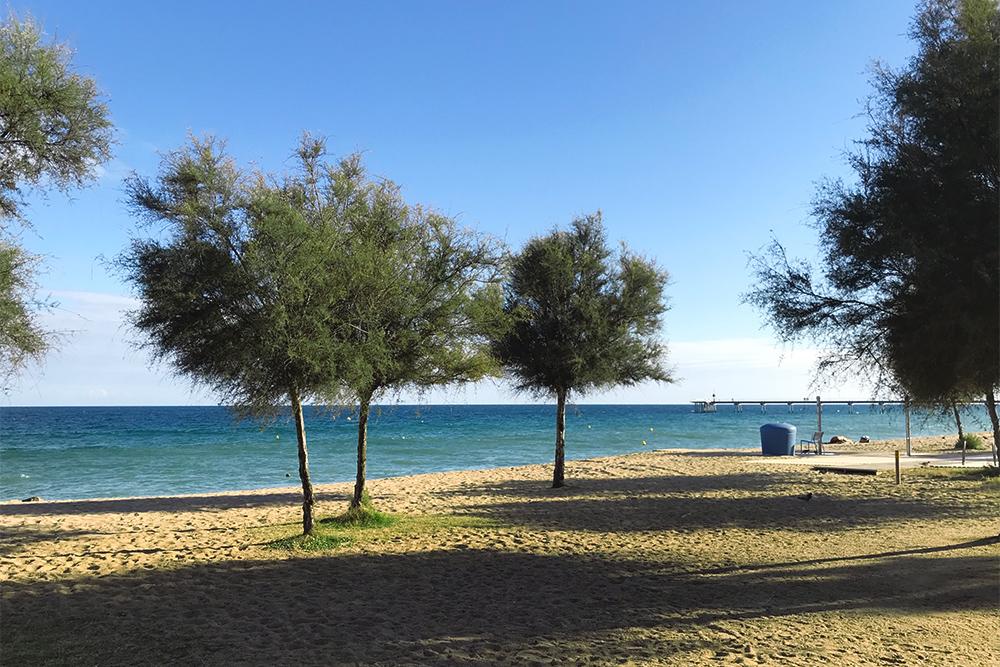 В октябре на пляжах Бадалоны я была совершенно одна
